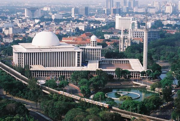cảnh đẹp ở Jakarta