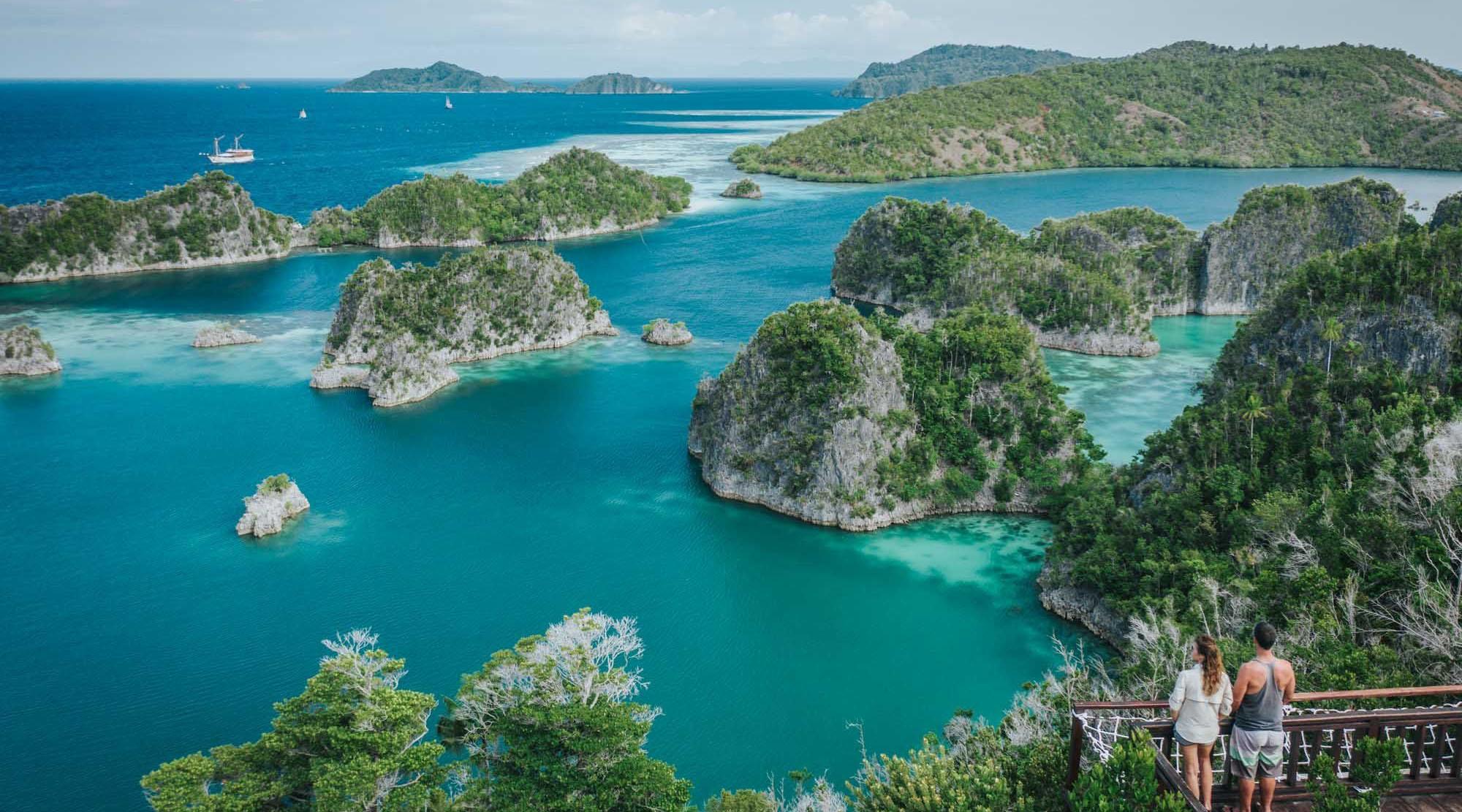 du lịch Raja Ampat Indonesia