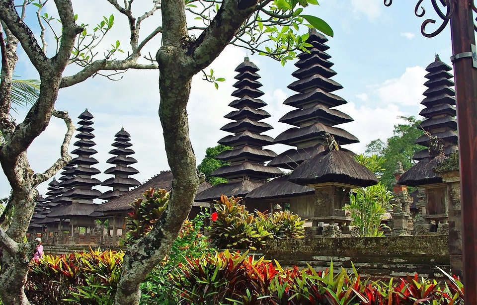 ngôi đền ở Bali